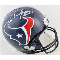 Demaryius Thomas Signed Texans Full-Size Helmet (Beckett COA)