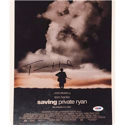 "Tom Hanks Signed ""Saving Private Ryan"" 11x14 Photo (PSA COA)"