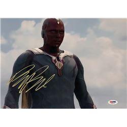 "Paul Bettany Signed ""Captain America: Civil War"" 11x14 Photo (PSA COA)"