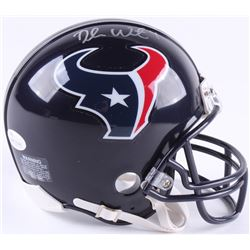 Deshaun Watson Signed Texans Mini Helmet (JSA COA)