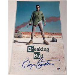 "Bryan Cranston Signed ""Breaking Bad"" 11x17 Photo (PSA COA)"
