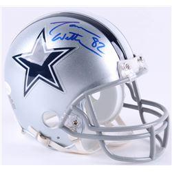 Jason Witten Signed Cowboys Mini-Helmet (JSA COA  Witten Hologram)