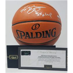 "Kobe Bryant Signed NBA Game Ball Series Basketball Inscribed ""5X Champ"" (Panini COA)"