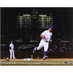Kyle Schwarber Signed Cubs 16x20 Photo (Schwartz Sports COA)