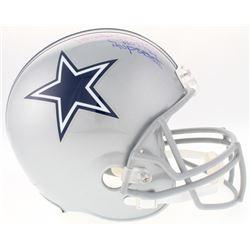 "Randy White Signed Cowboys Full-Size Helmet Inscribed ""HOF 94""  ""MVP SB XII"" (Schwartz Sports COA)"