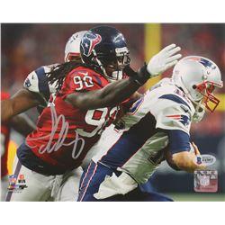 Jadeveon Clowney Signed Texans 8x10 Photo (Beckett COA)