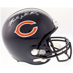 """Mike Singletary Signed Bears Full-Size Helmet Inscribed """"Monsters of the Midway"""" (Schwartz Sports CO"""