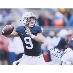 Trace McSorley Signed Penn State Nittany Lions 11.5x14 Photo (JSA COA)