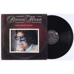 "Ronnie Milsap Signed ""Greatest Hits"" Vinyl Record Album (JSA COA)"