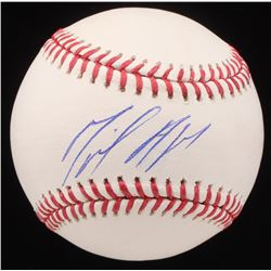 Miguel Andujar Signed OML Baseball (Beckett COA)