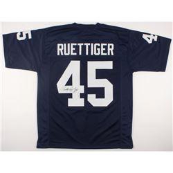 Rudy Ruettiger Signed Notre Dame Fighting Irish Jersey (JSA COA)