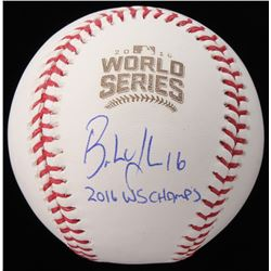 "Brandon Hyde Signed 2016 World Series Baseball Inscribed ""2016 WS Champs"" (Schwartz COA)"