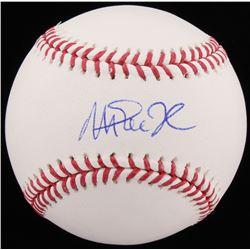 Magic Johnson Signed OML Baseball (Schwartz COA)