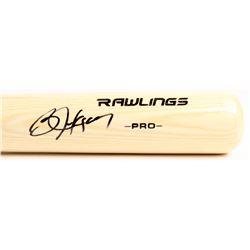 Bo Jackson Signed Rawlings Pro Baseball Bat (Beckett COA)