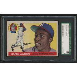 1955 Topps #47 Hank Aaron (SGC 5.5)