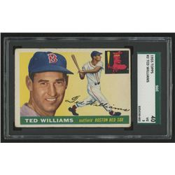 1955 Topps #2 Ted Williams (SGC 3)
