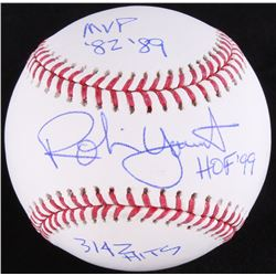Robin Yount Signed OML Baseball with Multiple Inscriptions (JSA COA)