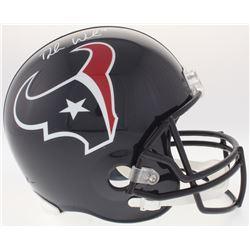 Deshaun Watson Signed Texans Full-Size Helmet (JSA COA)