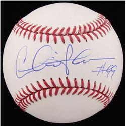 Charlie Sheen Signed OML Baseball (Schwartz COA)