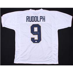 Kyle Rudolph Signed Notre Dame Fighting Irish Jersey (TSE COA)