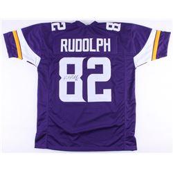 Kyle Ruldoph Signed Vikings Jersey (TSE COA)