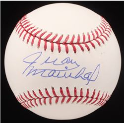 Juan Marichal Signed OML Baseball (JSA COA)