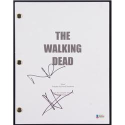 "Andrew Lincoln  Norman Reedus Signed ""The Walking Dead"" Full Pilot Episode Script (Beckett COA)"