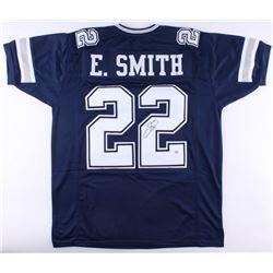 Emmitt Smith Signed Cowboys Jersey (PSA COA)