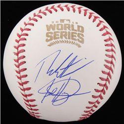 Theo Epstein  Jed Hoyer Signed Official 2016 World Series Baseball (Schwartz COA)