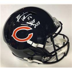 """Brian Urlacher Signed Bears Full-Size Speed Helmet Inscribed """"HOF 2018"""" (Beckett COA)"""