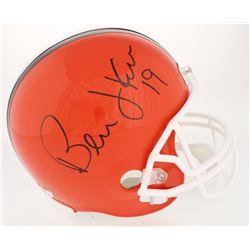 Bernie Kosar Signed Browns Full-Size Helmet (JSA COA)