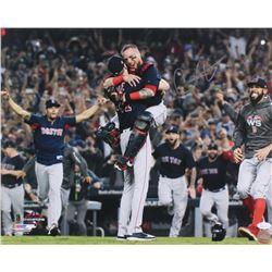 Christian Vazquez Signed Red Sox 16x20 Photo (JSA COA)