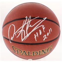 "Dennis Rodman Signed NBA Basketball Inscribed ""HOF 2011"" (Schwartz COA)"