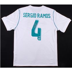 Sergio Ramos Signed Real Madrid Adidas Jersey (Beckett COA)