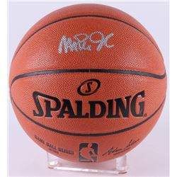 Magic Johnson Signed Game Ball Series Basketball (Beckett COA)