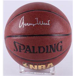 Jerry West Signed Basketball (JSA COA)
