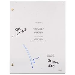 "Tim Allen Signed ""Toy Story"" Full Movie Script (JSA COA)"