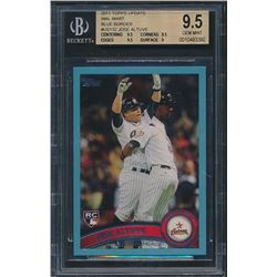 2011 Topps Update Wal-Mart Blue Border #US132 Jose Altuve (BGS 9.5)