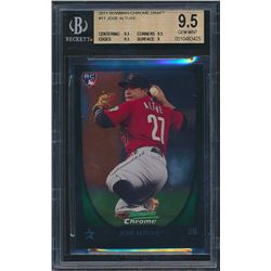 2011 Bowman Chrome Draft #11 Jose Altuve RC (BGS 9.5)