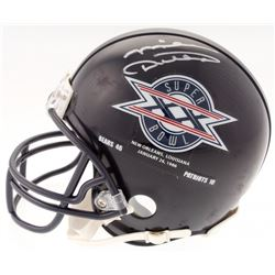 Mike Ditka Signed Bears Mini Helmet with Super Bowl XX Logo (Schwartz COA)