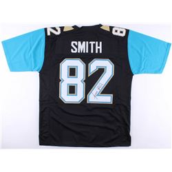 Jimmy Smith Signed Jaguars Jersey (JSA COA)