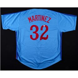 "Dennis Martinez Signed Expos ""El Presidente"" Jersey Inscribed ""P.G. 7/28/91"" (JSA COA)"