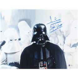 "David Prowse Signed ""Star Wars"" 11x14 Photo Inscribed ""Darth Vader"" (Beckett COA)"