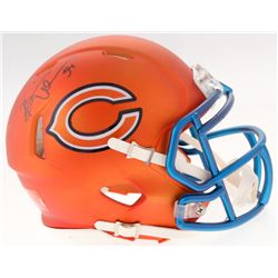 Brian Urlacher Signed Bears Blaze Speed Mini Helmet (Schwartz COA)