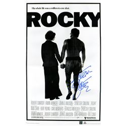 "Sylvester Stallone Signed ""Rocky"" 24x36 Movie Poster (ASI COA)"