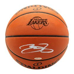 LeBron James Signed Authentic Spalding Basketball (UDA COA)
