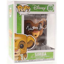 "Matthew Broderick Signed ""Simba"" #85 Disney Funko Pop! Vinyl Figure (Schwartz COA)"