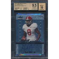 2011 Leaf Metal Draft All-Americans #AAJJ2 Julio Jones (BGS 9.5)