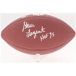 "Steve Largent Signed NFL Football Inscribed ""HOF '95"" (Schwartz COA)"