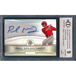 2010 Bowman Platinum Prospect Autographs Refractors #PG Paul Goldschmidt (BCCG 9)